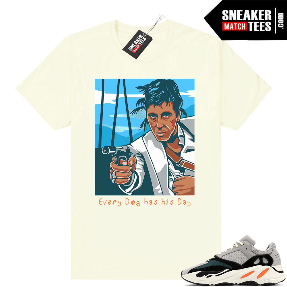 Scarface shirt Yeezy Wave Runner Match