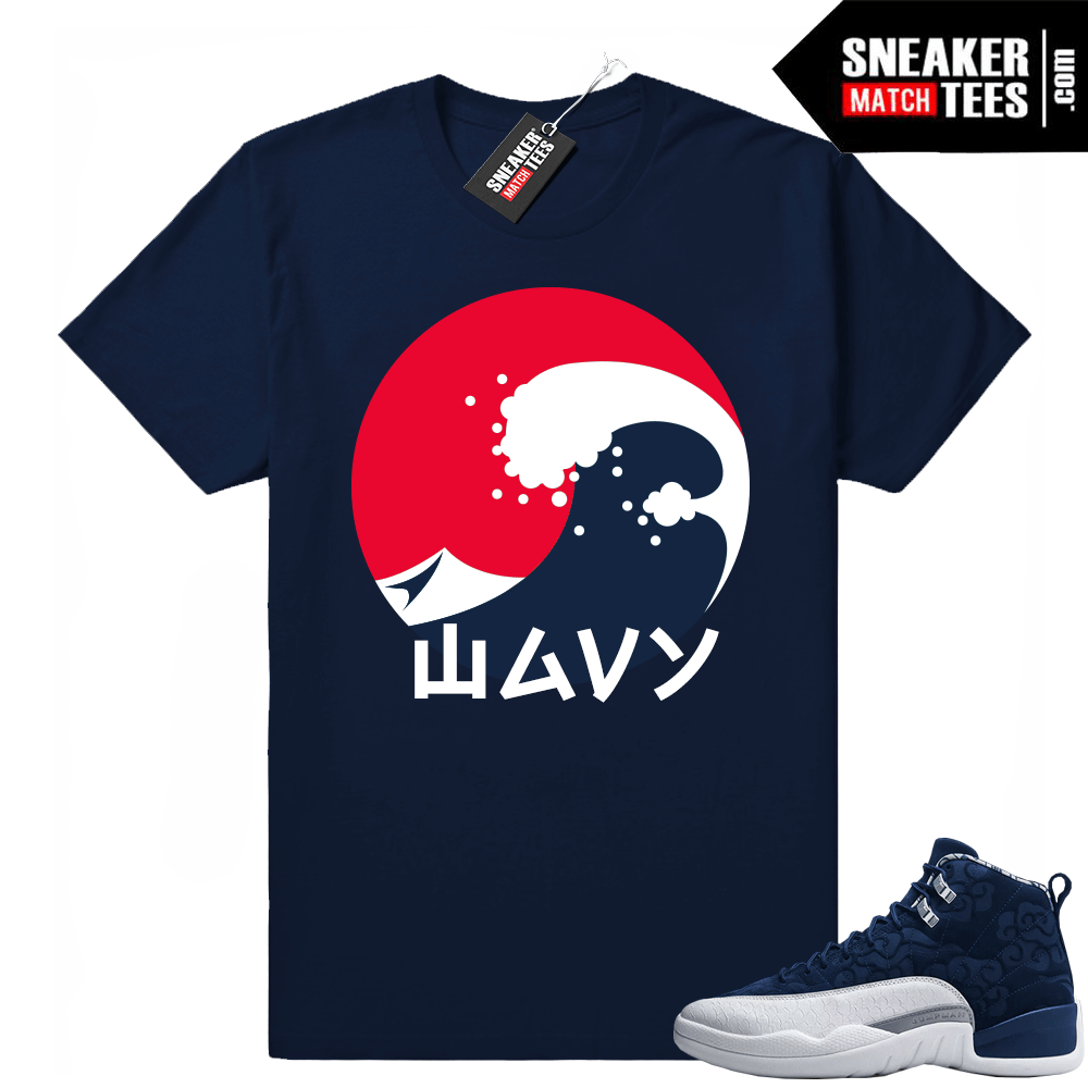 Sneaker Match Retro 12 shirts