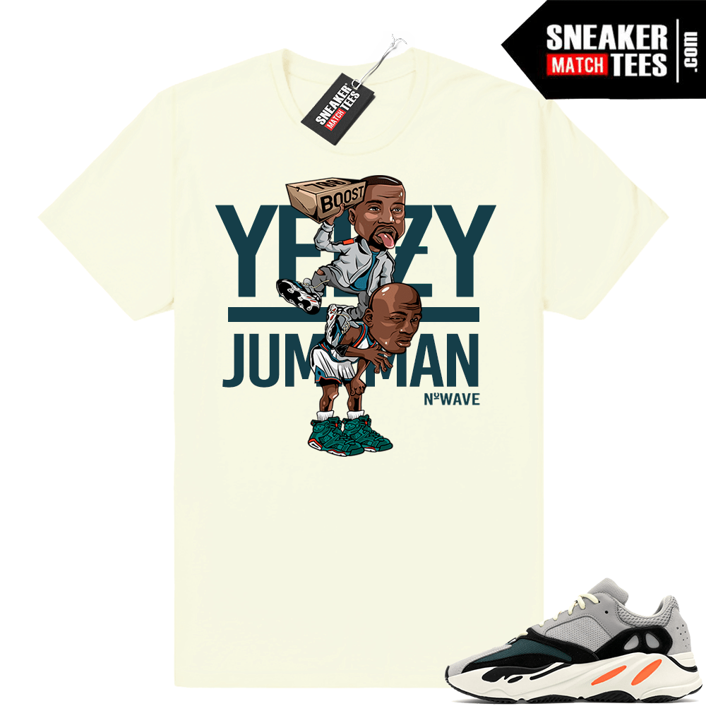 Yeezy Wave Runner 700 Yeezy Over Jumpman shirt