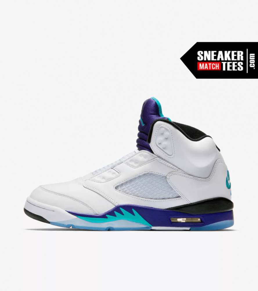 innovative design ad71f cb792 Air Jordan 5 Grape Fresh Prince 2018 - Official Sneaker ...