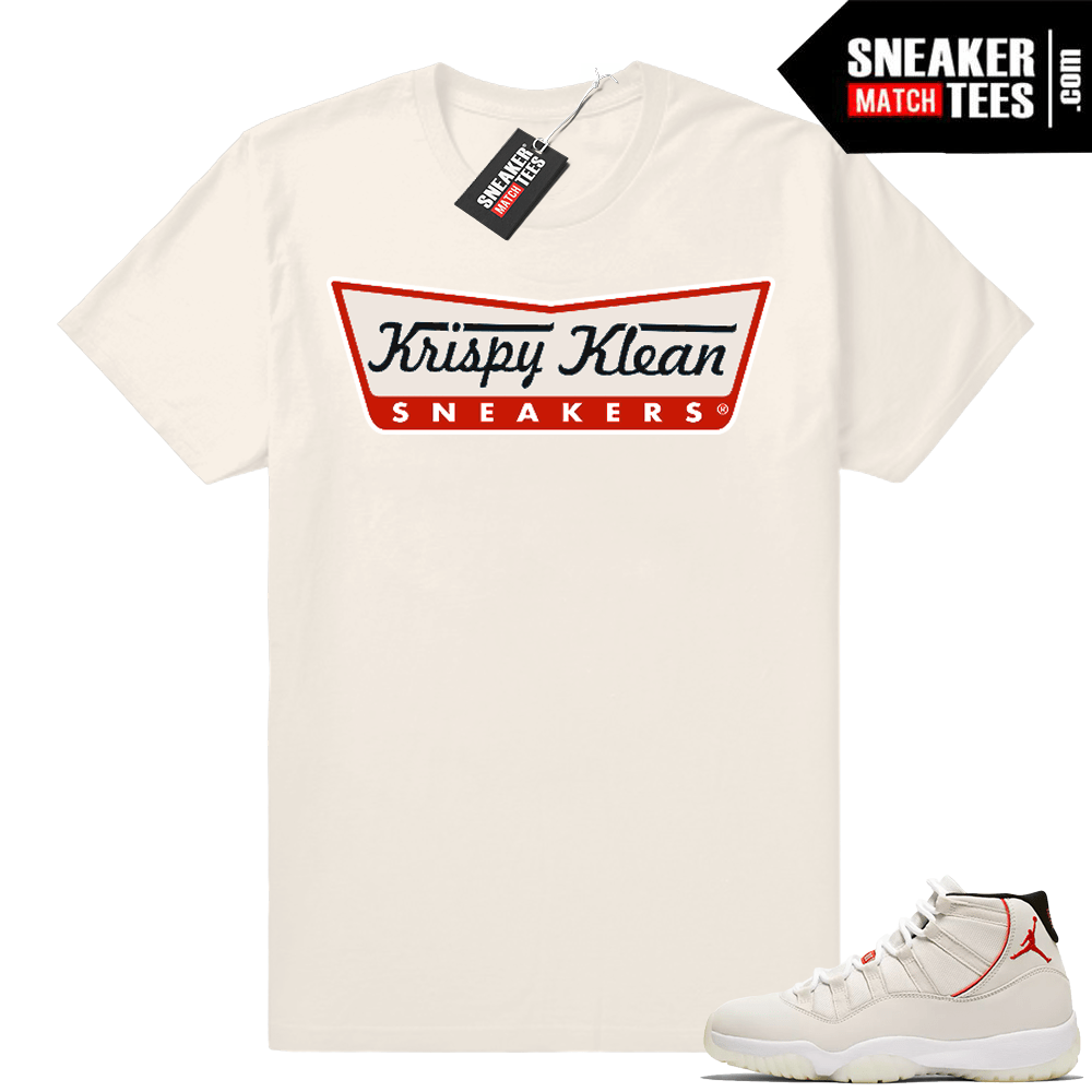 designer fashion 284db a9e49 Jordan 11 Platinum Tint shirts match sneakers | Jordan ...