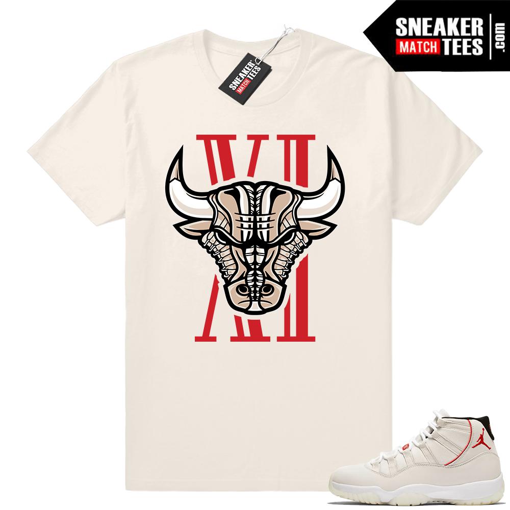 52ebf0d862395b Air Jordan 11 Platinum Tint sneaker shirts