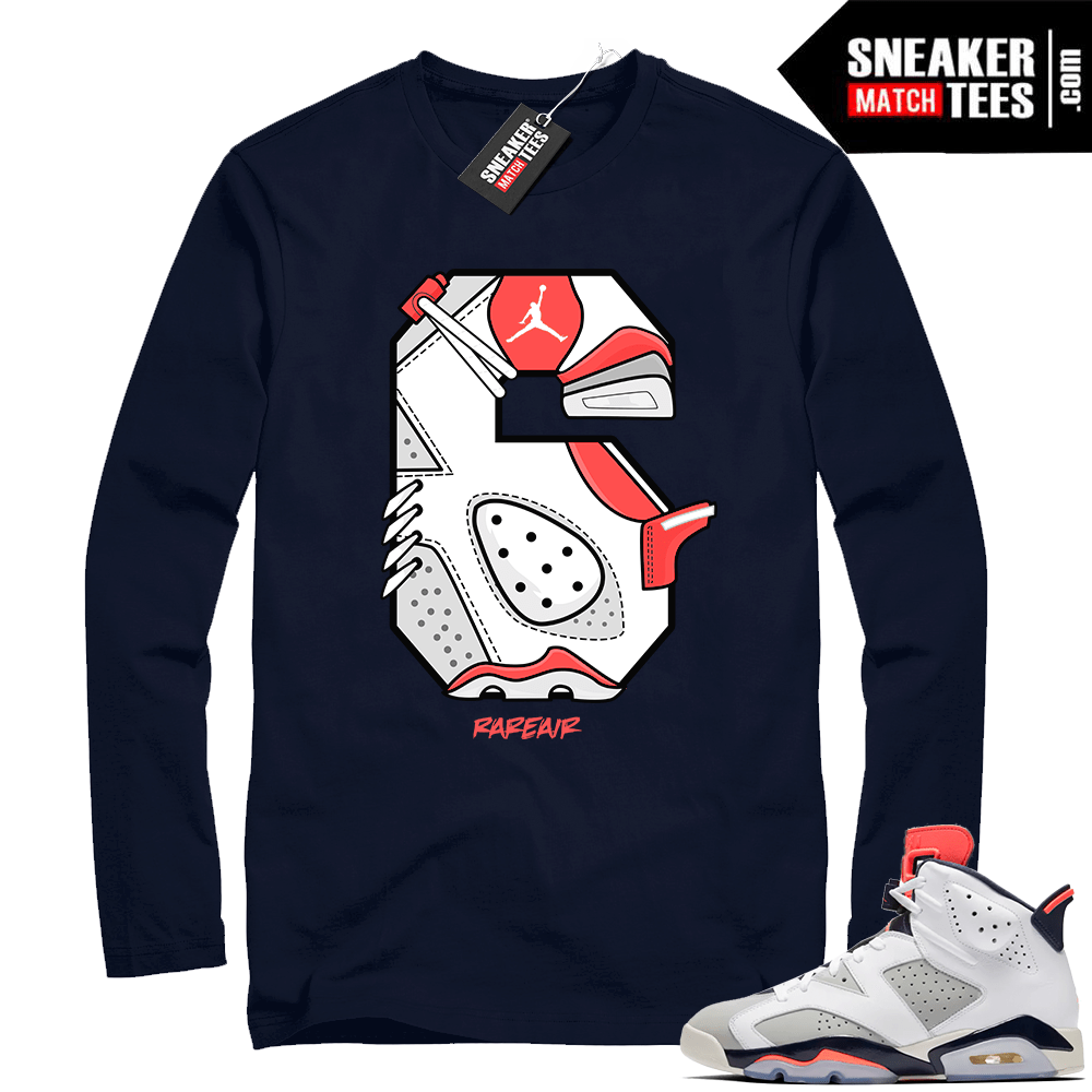 4dc95ef32c9a2a Air Jordan Retro 6 shirt