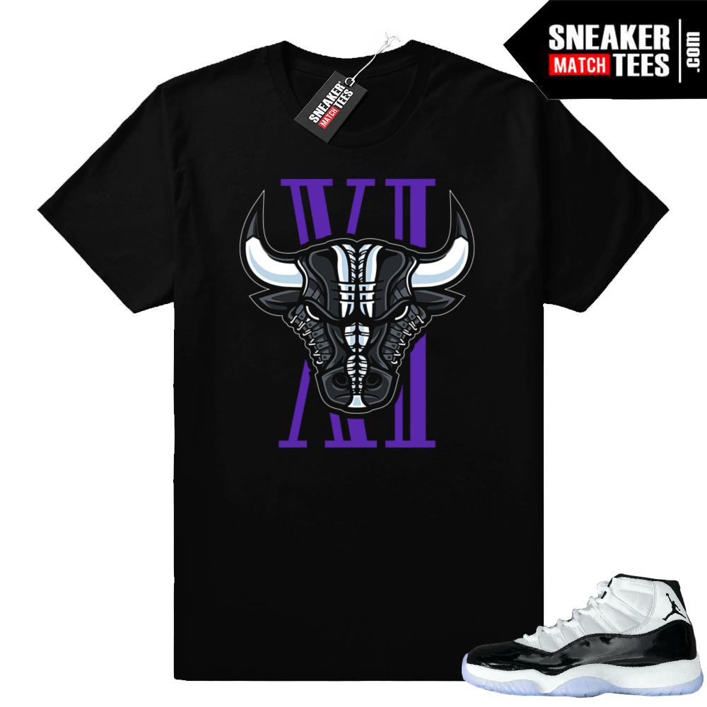 84d3ab511b67b3 Air Jordan 11 Concord shirts