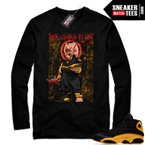 Black Long Sleeve Shirt Melo 13s