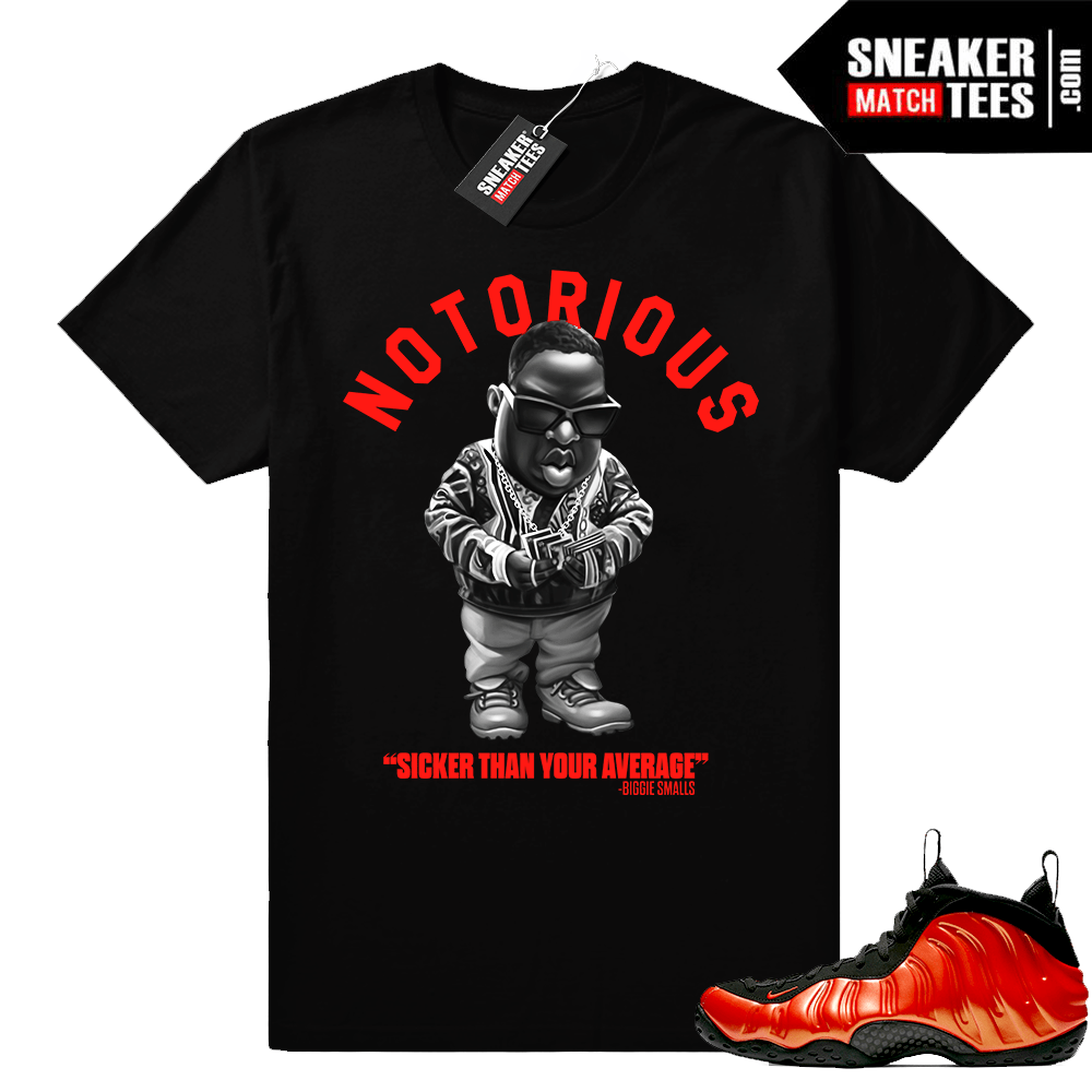 Foamposites shirt Habanero Biggie
