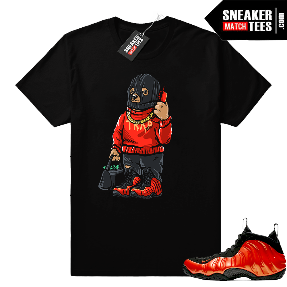 Habanero foams Ski Mask Trap Bear t-shirt