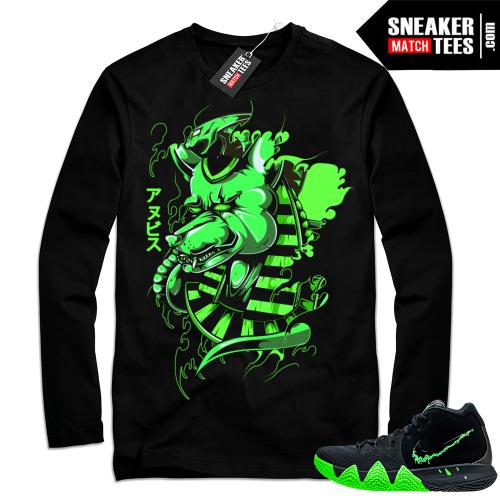 Halloween Kyrie 4 sneaker tee shirt