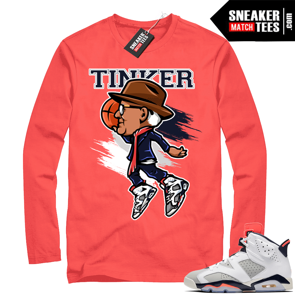 reputable site 6a109 68ebd Infrared tinker 6 | Air Tinker 6s | Infrared Long Sleeve shirt