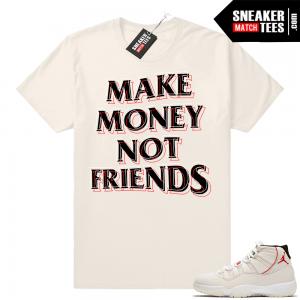 b4484a344e6fc8 Jordan 11 Platinum shirt. Platinum Tint 11