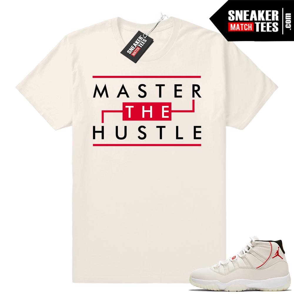 1dff1aa5721 Jordan 11 Platinum Tint shirts match sneakers   Jordan Clothing Store
