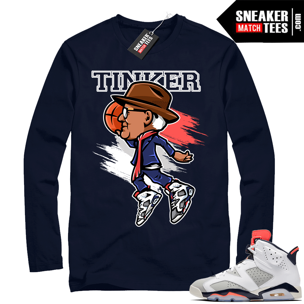 best website cd758 62acc Jordan Retro 6 Tinker shirts match sneakers | Sneaker Match ...