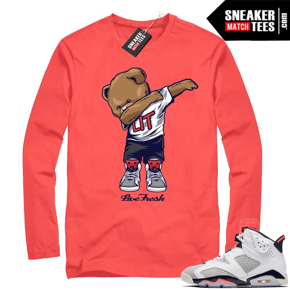 83cacd13e3d86b Jordan Infrared shirt Tinker 6
