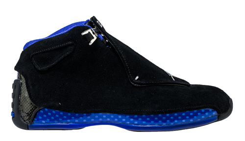 Jordan release dates Retro 18 Black Sport Royal