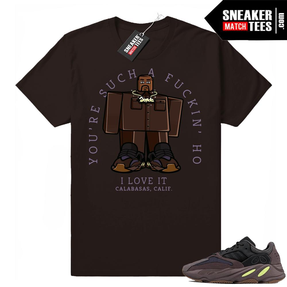 5a44acea7fa1e3 Yeezy 700 Mauve shirts match sneakers