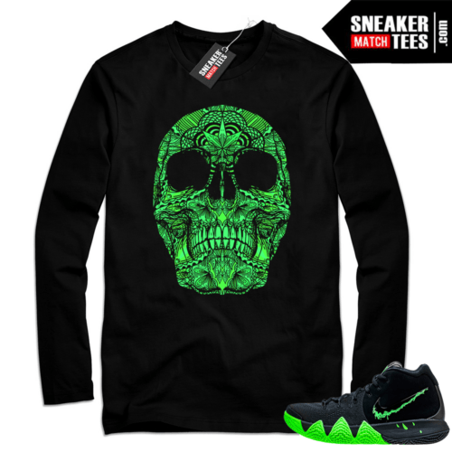 Kyrie 4 Halloween shirt outfit