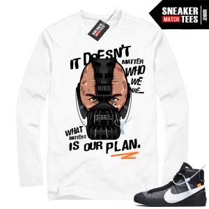 Off-white Nike Blazer Grim Reaper shirt match