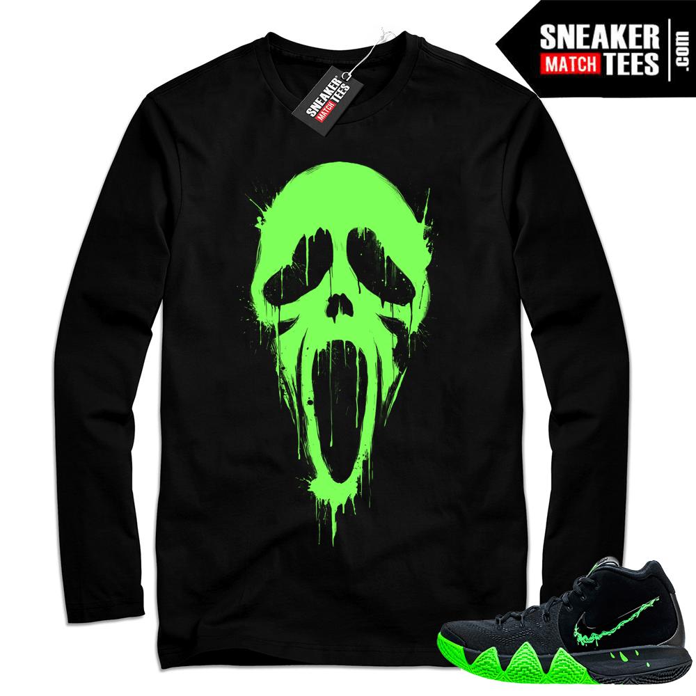 71a8bf2cd1f3 Shirt match Kyrie 4 Halloween sneakers
