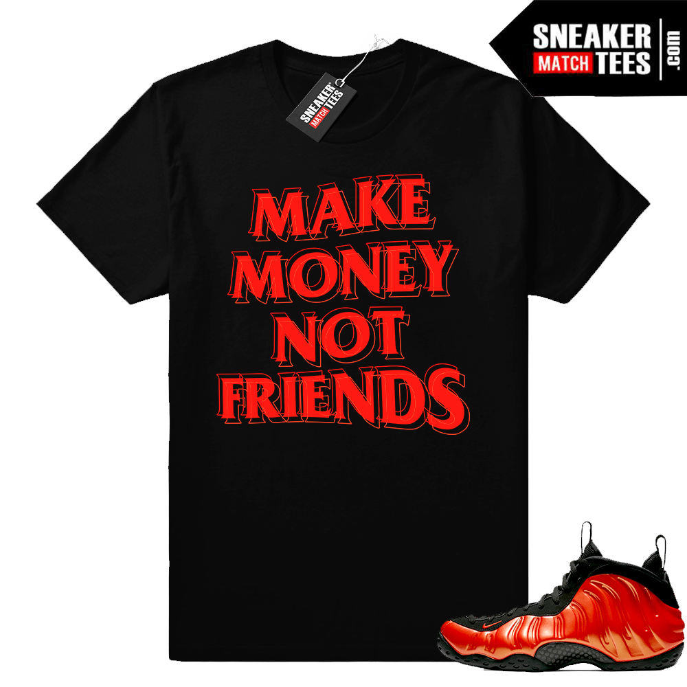 Shirts to match Habanero Foams