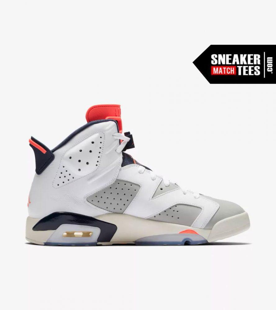 best website a8ed3 52837 Jordan Retro 6 Tinker shirts match sneakers | Sneaker Match ...