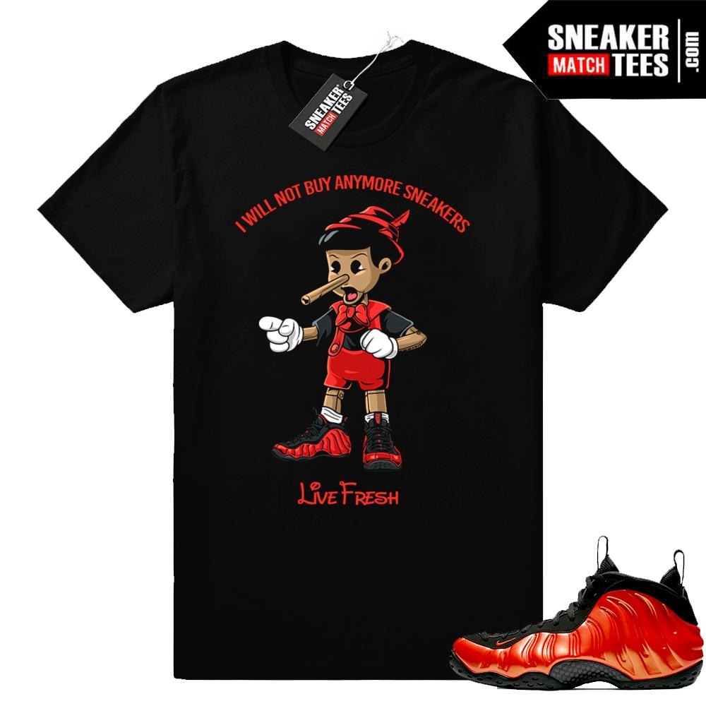 Sneakerhead Pinocchio Habanero Foams