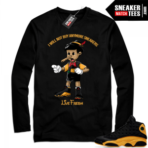 Sneakerhead shirt Melo 13s