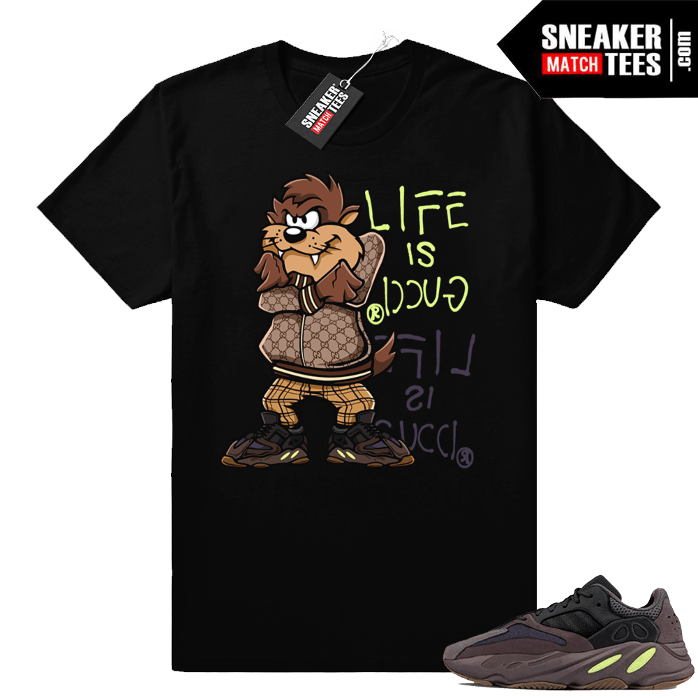 a5fee87a Yeezy Boost 700 Life is Gucci T-shirt | Yeezy Clothing Shop