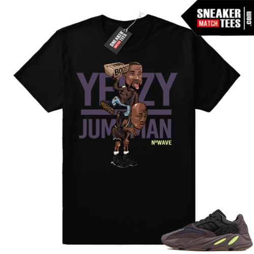 Yeezy Over Jumpman T-shirt Mauve 700