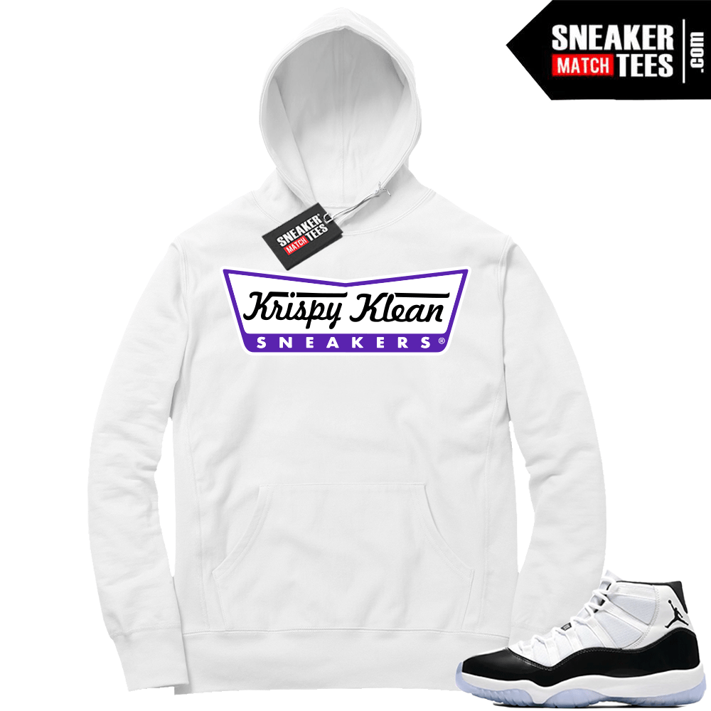 878a429b98b Air Jordan 11 Concord Hoodie Sweater | Jordan sneaker clothing