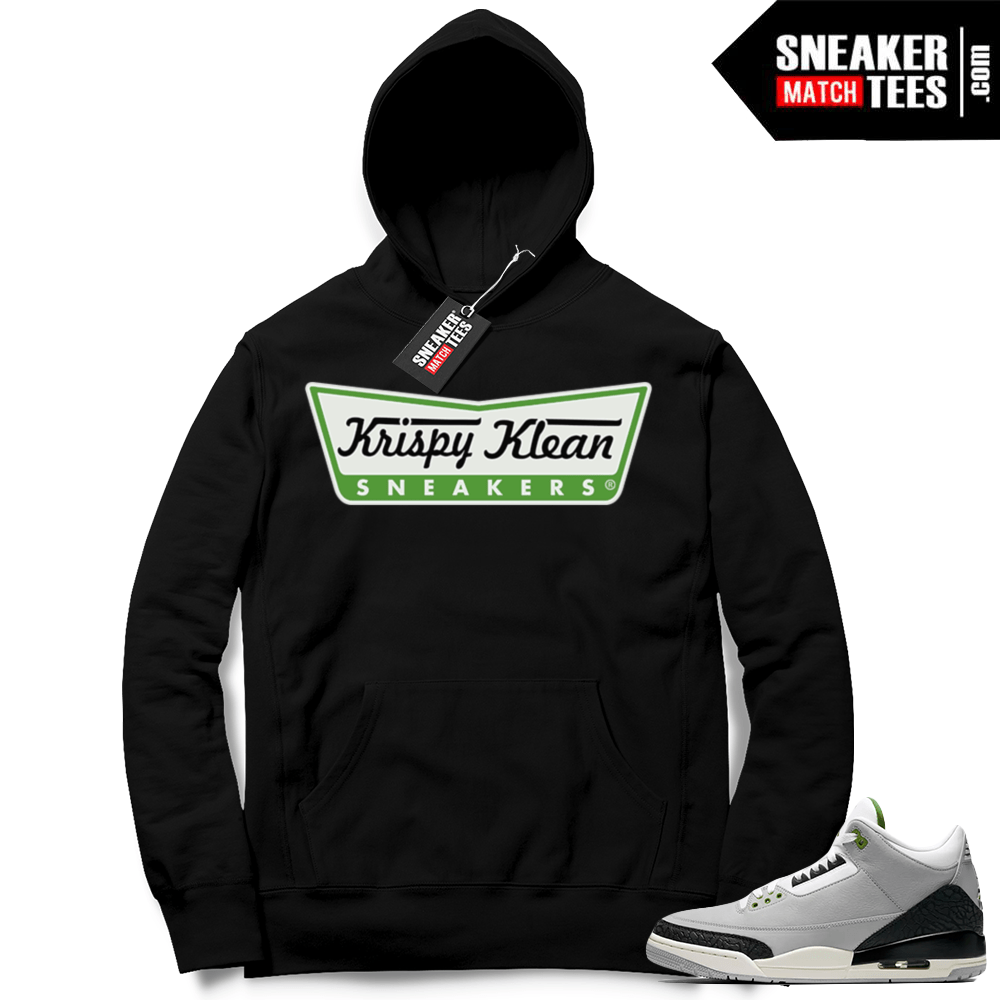 eb5d2ae2dee Air Jordan 3 retro hoodie Chlorophyll | Jordan Clothing Shop