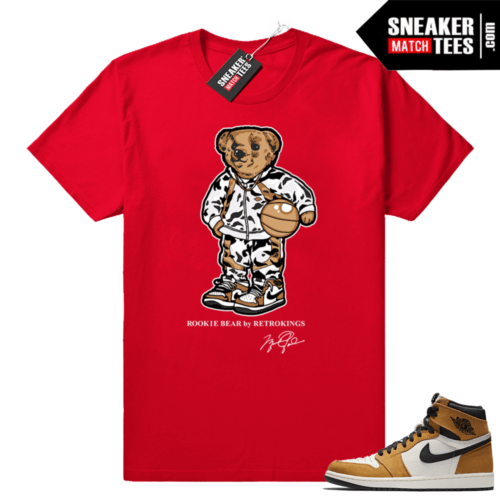Jordan 1 Rookie of the Year Red tee