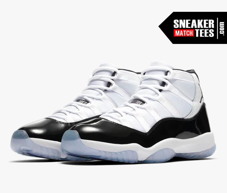 Jordan 11 Concord shirts sneaker clothing