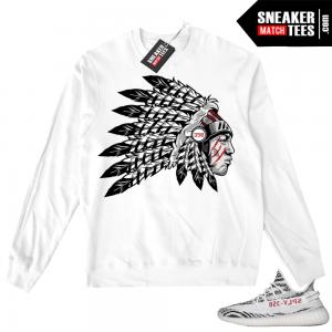 937b18d5a20af Yeezy Boost 350 V2 Zebra White Crewneck Sweater