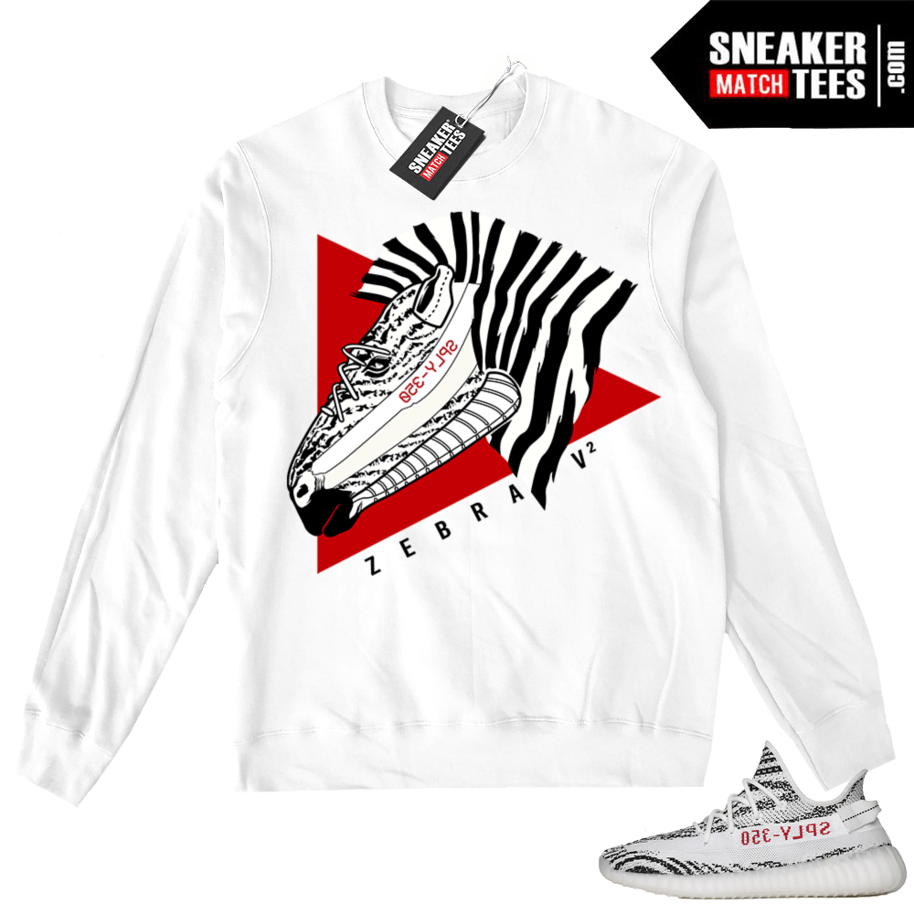 Yeezy Zebra White Sweater