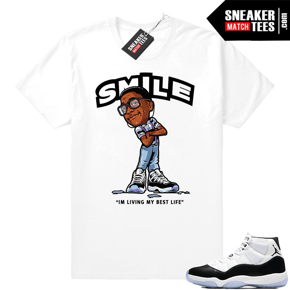 4f72d970aa5 Jordan 11 Concord shirts match sneakers | Jordan Sneaker Clothing Shop