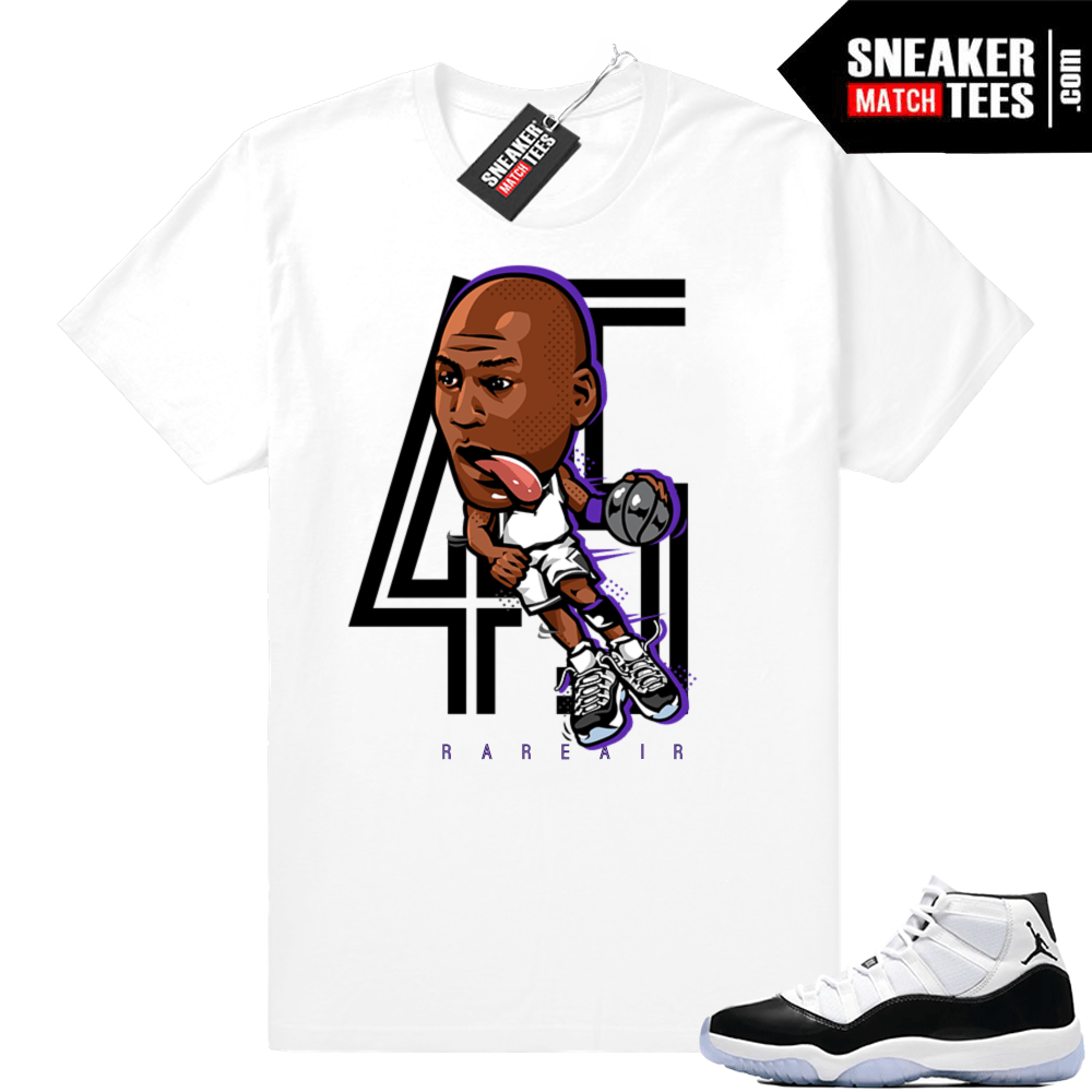 9f938b3aff3d Air Jordan 11 Concord matching clothing