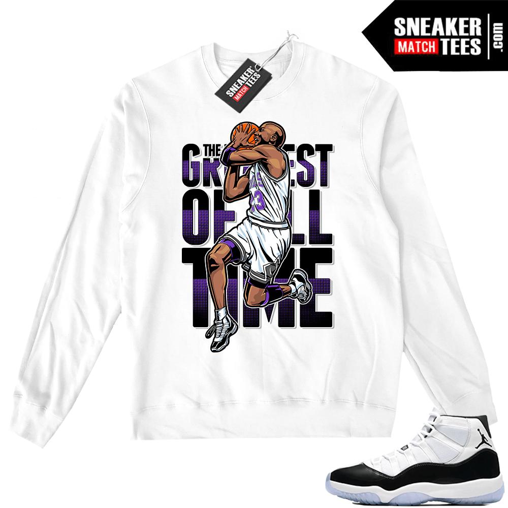 518b57a9445ab4 Concord 11 Greatest Crewneck sweater