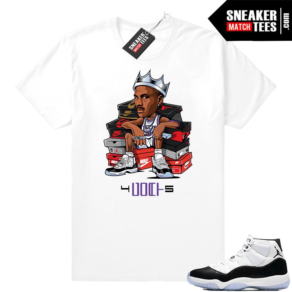 af886444cc551a Jordan 11 Concord shirts match sneakers