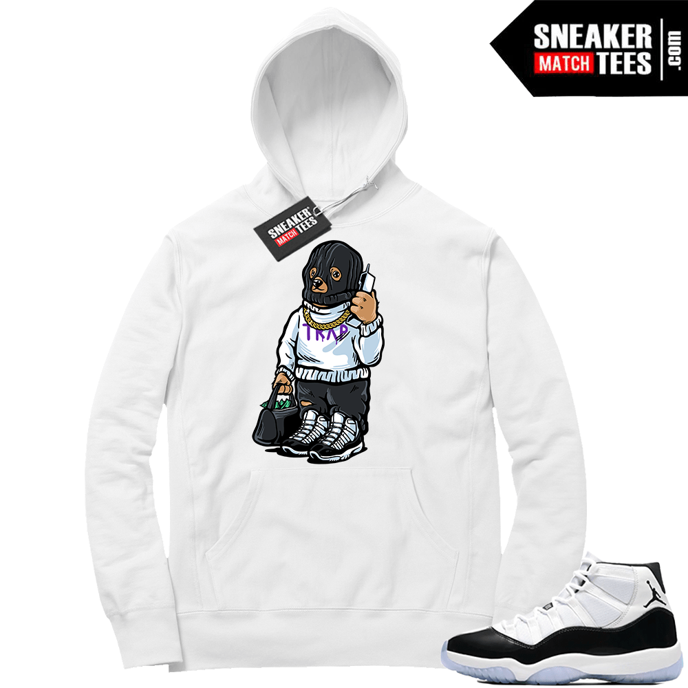 Concord 11 Trap Bear Hoodie