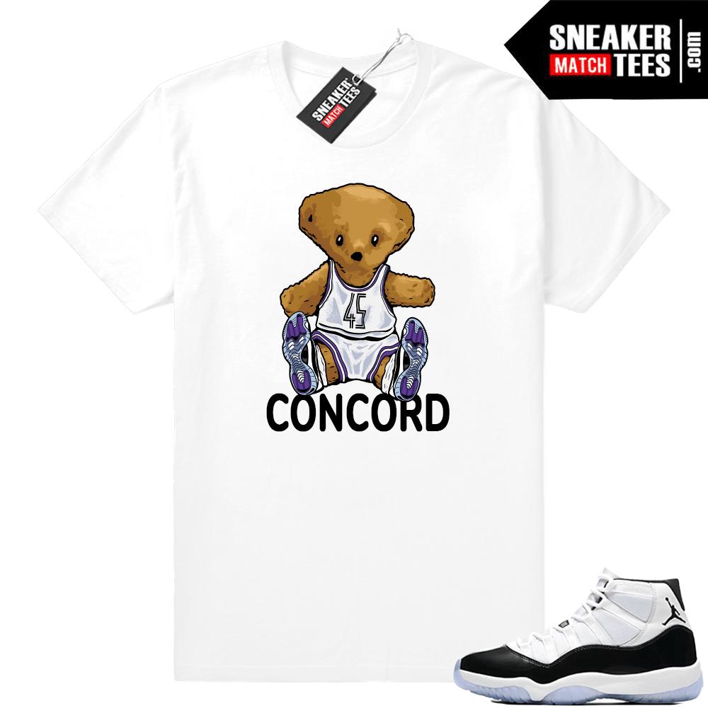 official photos 8694d 5338f Concord 11 Jordan | Concord Bear | White shirt