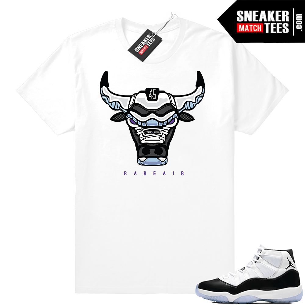 65453f330 Jordan 11 Concord shirts match sneakers