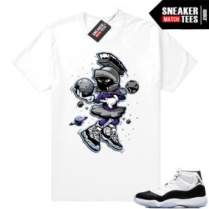 ac932723a14c74 Jordan 11 Concord matching sneaker clothing