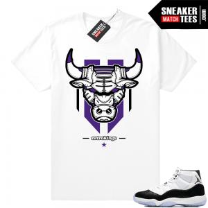 ef8de5efbdeec6 Match Jordan 11 Concord shirts
