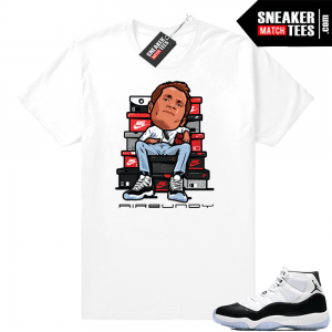 993b0bca9300 Jordan 11 Concord t-shirt Air Bundy