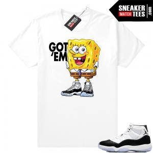 20626befdb55cf Match Jordan 11 Concord shirts