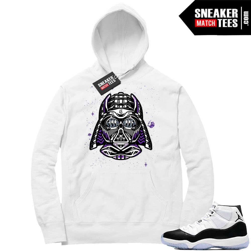 b6d1c0b965d650 Jordan 11 Concord shirts match sneakers