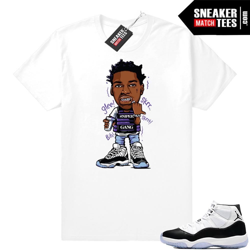 reputable site cc328 ae310 Jordan 11 Concord shirts match sneakers | Jordan Sneaker ...