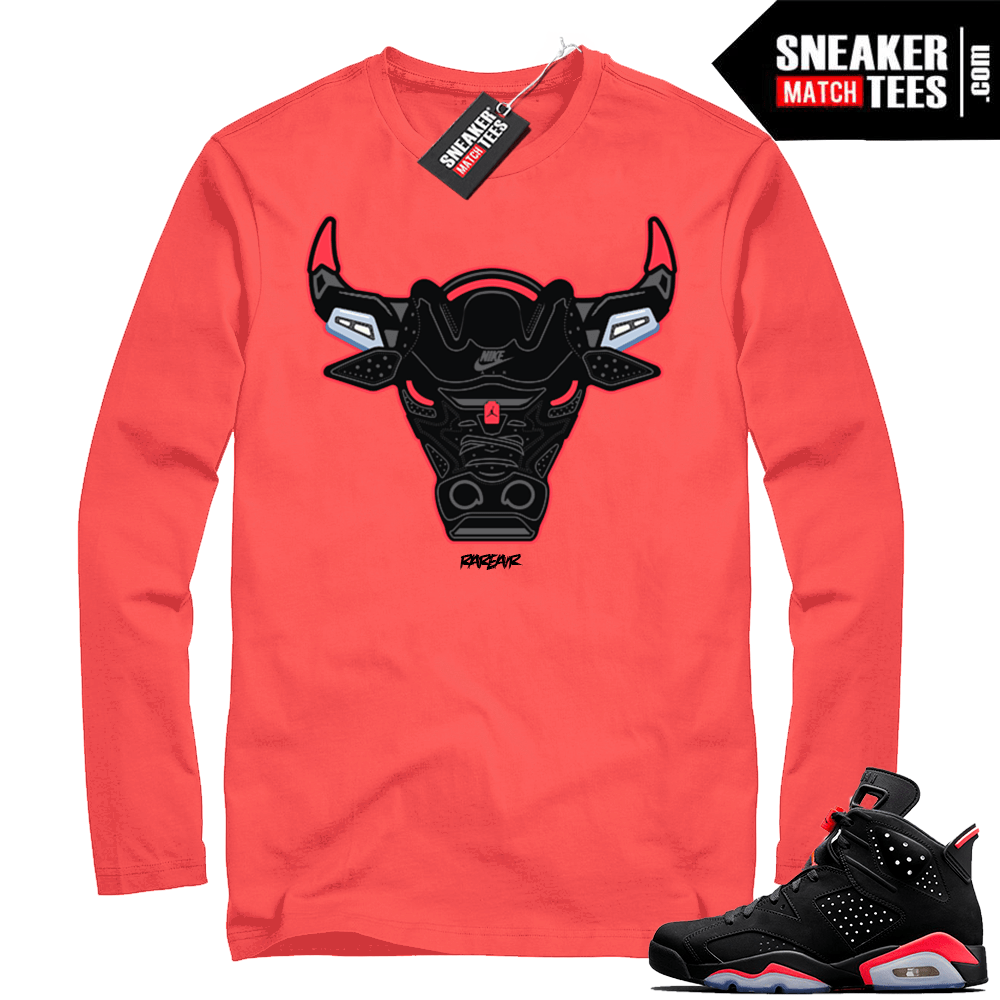Infrared 6s sneaker tee shirts