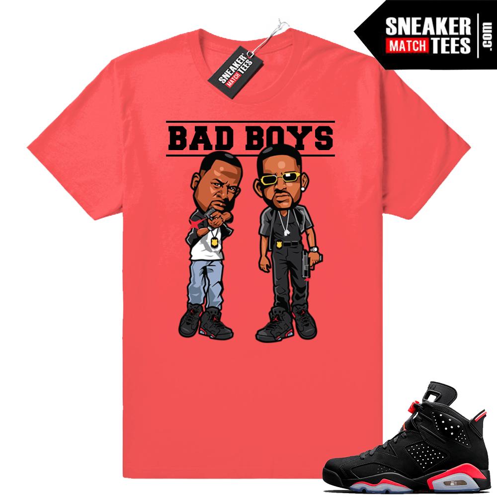 brand new bb5c3 c9e5c Infrared Jordan 6 shirt