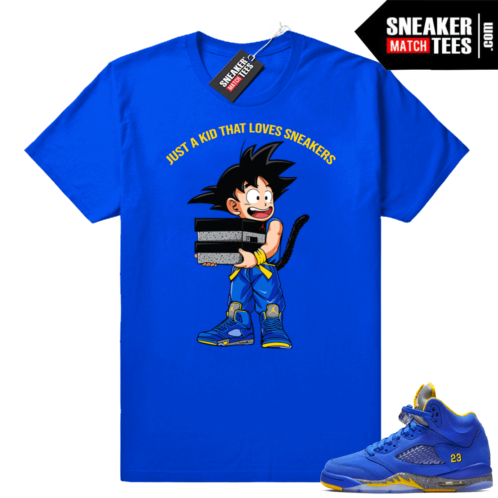 10eabba3 Jordan 5 Laney Just A Kid shirt | Jordan Sneaker Clothing